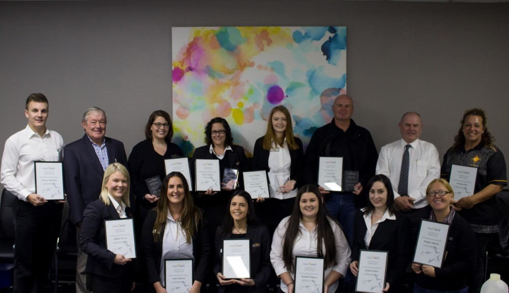 Novaskill staff acknowledged at Jenny Sivyer Achievement Awards