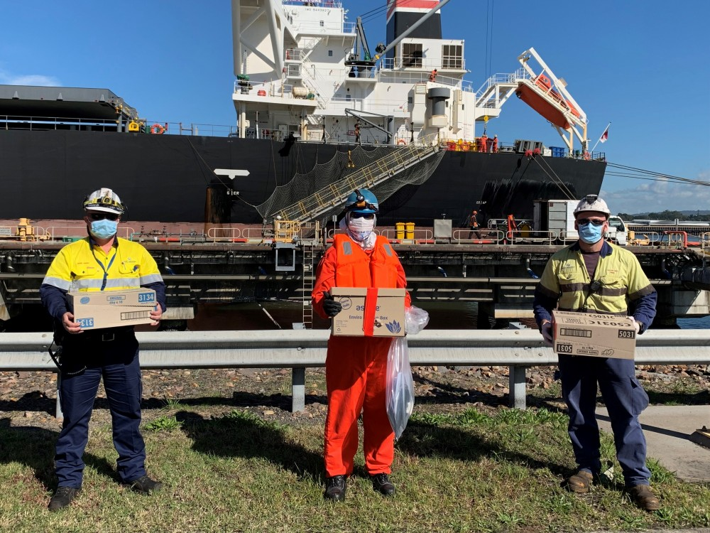 Sweet boost for visiting seafarers