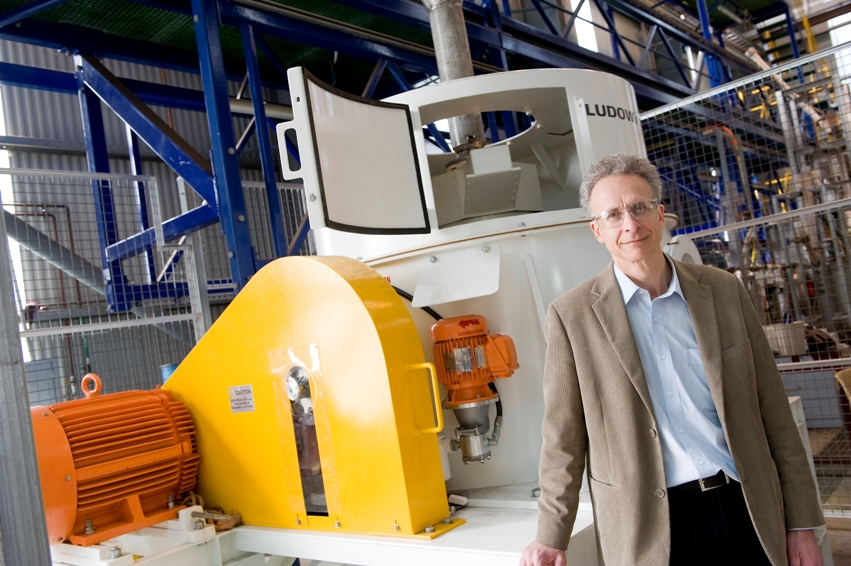 Scientific honour for engineer transforming minerals processing
